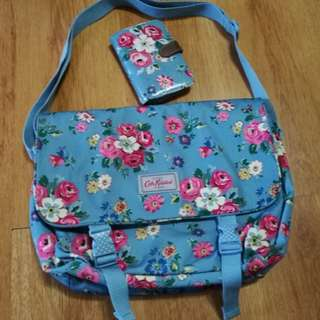 Authentic Cath Kidston bag and wallet with Tags