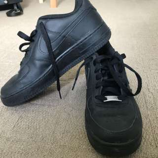 Nike Air Force 1's size 5 youth