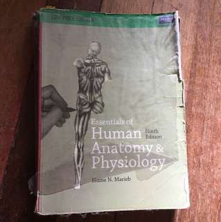 ANATOMY AND PHYSIO BOOK MARIEB