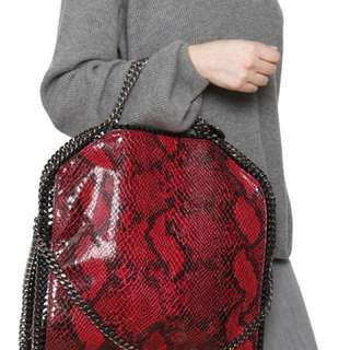 Pyth Stella McCartney / Large Fabella Handbag - & Black Red Tote Bag