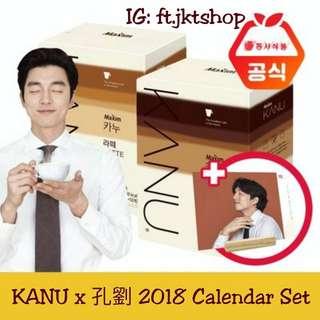 《代購》KANU x 孔劉 2018 Calendar Set