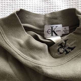 Calvin Klein turtleneck