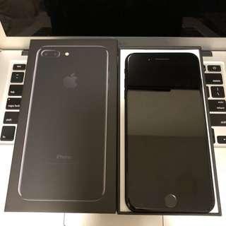 iPhone 7Plus Jet Black 128G