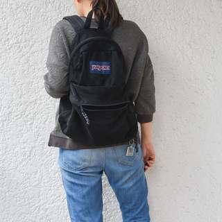 Jansport Black Mesh Backpack