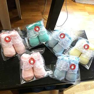 REPRICED!!TAKE ALL NEW BABY SOCKS!