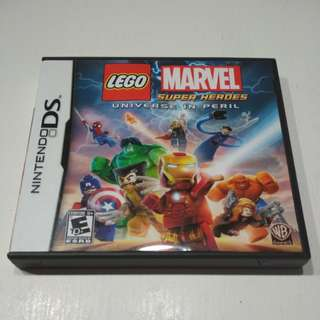 Nintendo DS Lego Marvel Super Heroes Universe in Peril