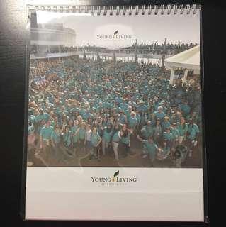 Young Living 2018 Calendar
