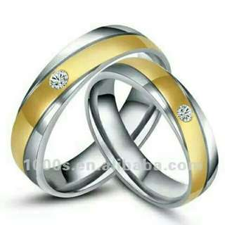 Cincin Couple Titanium TN019