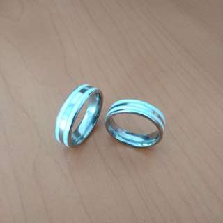 Cincin Couple Titanium TN005