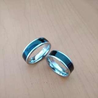 Cincin Couple Titanium TN006