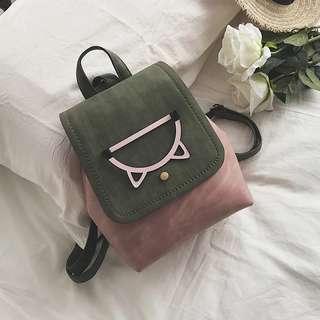 <P.O> Korean Ulzzang Mini Cat Kitten Backpack Bag