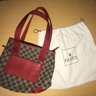 Vintage Gucci Red