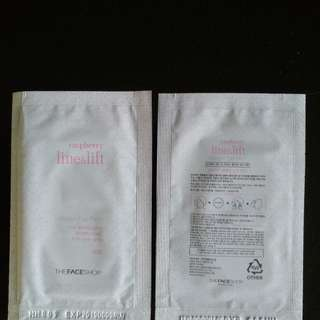 Collagen Raspberry Line & Lift Eye Patch