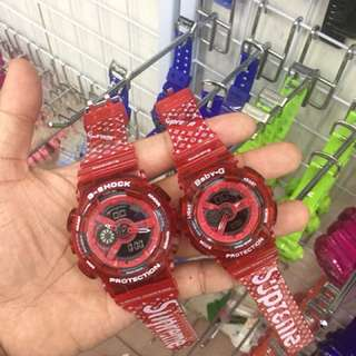 G-SHOCK COUPLE SUPREME WATCH