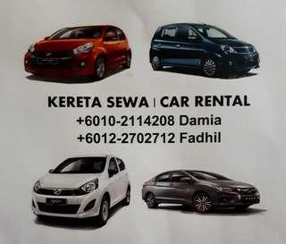 KERETA SEWA / CAR RENTAL (KL)