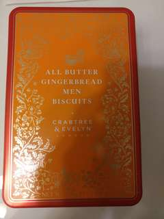 [送禮首選] Crabtree & Evelyn London All Butter Gingerbread Men Biscuits
