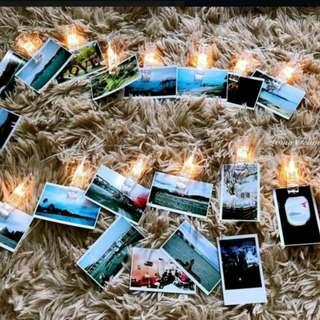 100 pcs LOMO CARD + LED lamp