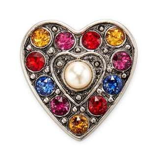 Marc Jacobs Pave Heart Brooch(PRE-ORDER)