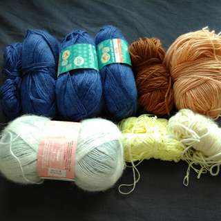 Acrylic Yarn Destash
