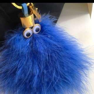 Sophie hulme keychains pom ponpon 毛毛球 鎖匙扣