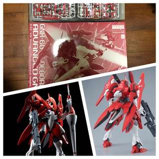 Deborah's advance gn gundam mg