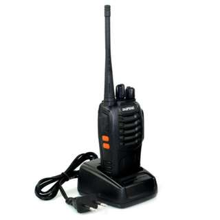 FREE POS Ready Stock Baofeng BF-888S 5KM Walkie Talkie 16 Channel Radio UHF 5W