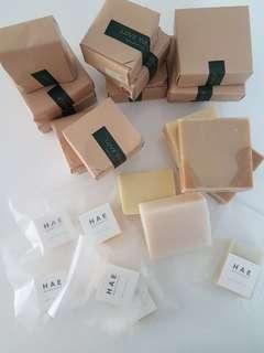 重量級全天然手造皂 (冷壓油造 及 皂約100G)