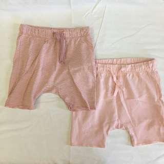 H&M Drawstring Baby Shorts