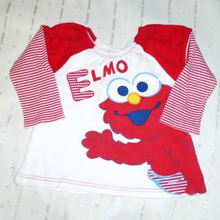 Charity Sale! Authentic The Sesame Street girl's top Size 1 12-18 months
