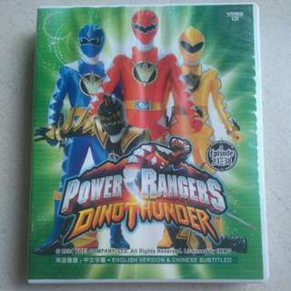 Power Rangers video disc