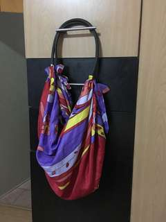 Hobo style beach bag