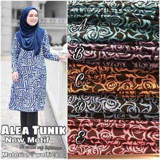 Akea Tunik Top (PO) Plussize Avail Till 7xl