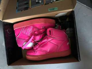 Heelys Pink Shoes (As Good As New) up to 8 years Eu31/20cm