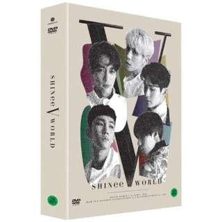 SHINee World V in Seoul DVD + Special Color Postcard Book + 6 Photocards + Poster