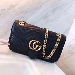 gucci logo雙鏈包/單鏈包/側背包