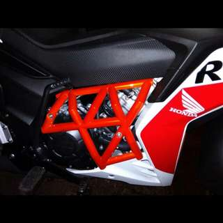 engine guard cover rs150 abs injection kaler oren