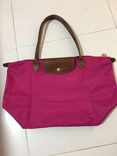 Pre-loved Longchamp Le Pilage Tote Bag, 30cm