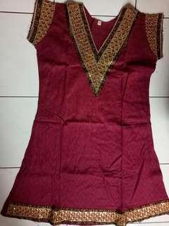 Baju india katun