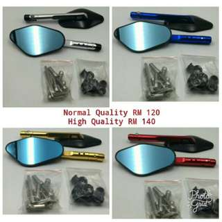 4 Edge Rizoma Solid Side Mirror