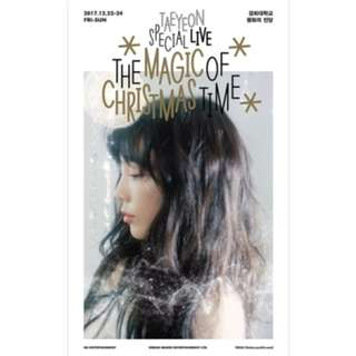 [PREORDER] Taeyeon - Taeyeon Special Live : The Magic of Christmas Time DVD