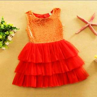 Little Girl's tutu dress(1-6 yrs old)