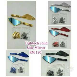 Lightech Knife Solid Side Miror