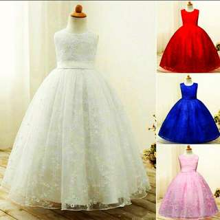 Princess Gown(size 110-160)