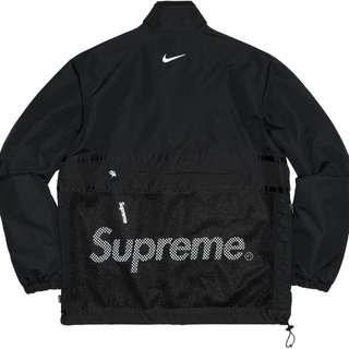 Supreme x Nike Trail Running Jacket Black Adidas Yeezy AJ