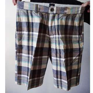 GAP Plaid Preppy Shorts