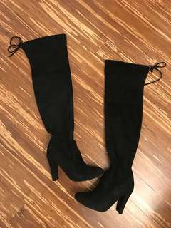 "Steve Madden ""Gorgeous"" Over the Knee boots size 6.5"