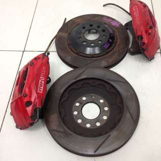 Volkswagen Golf GTI Rotor Disc & Caliper (AS2253)
