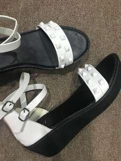 Simple White Sandal