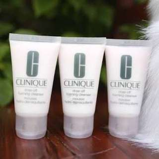 CLINIQUE RINSE OFF FOAMING CLEANSER 30ml