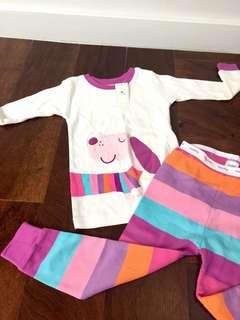BabyGap Girl pyjamas